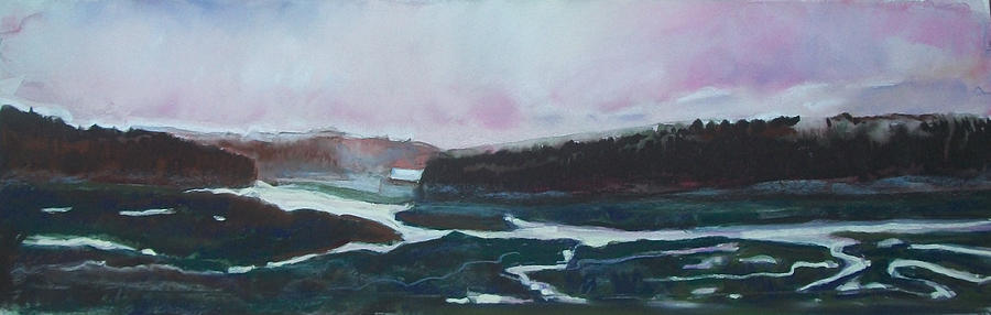 Maine Pastel - Towards Edgecomb by Grace Keown