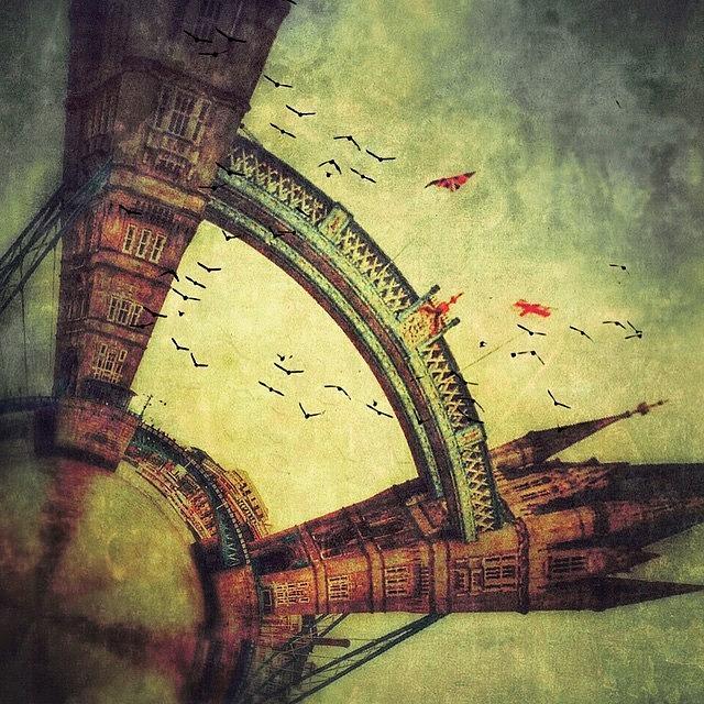 Tower Bridge Fantasy Photograph by Jill Battaglia
