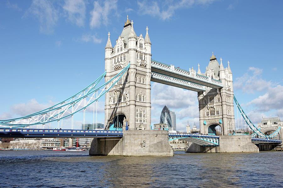 Tower Bridge Photograph by Richard Newstead