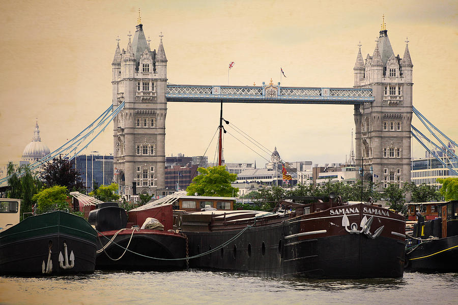 Tower Bridge Photograph - Tower Bridge by Stephen Norris
