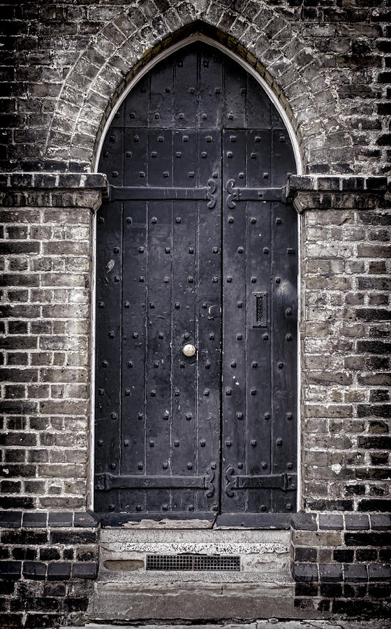 Door Photograph - Tower Door by Heather Applegate