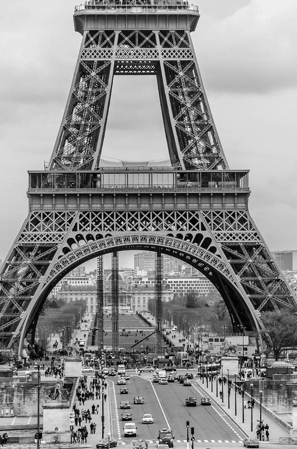 Eiffel Tower Photograph - Tower by Leeya Eskinazi
