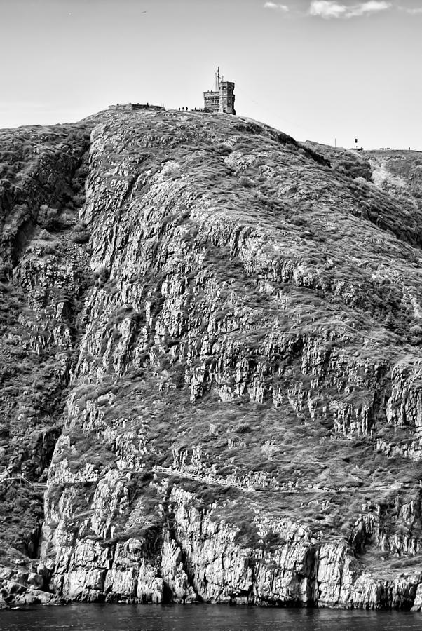 Atlantic Photograph - Signal Hill by Boss Photographic
