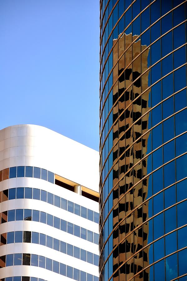 Tower Reflection 5042 Photograph