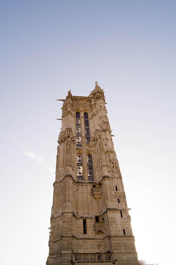 Paris Pyrography - Tower Saint Jacques Paris by Henri Postant