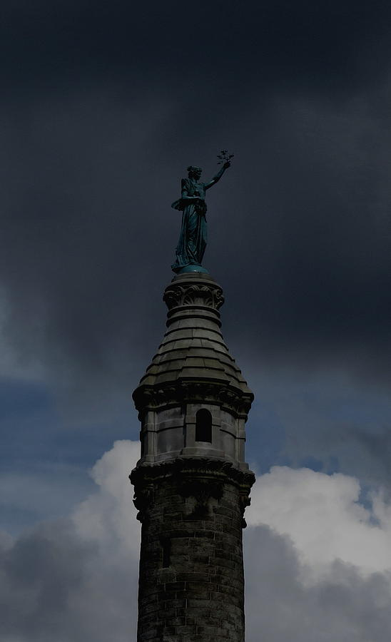 New Haven Photograph - Tower Top by Stephen Melcher