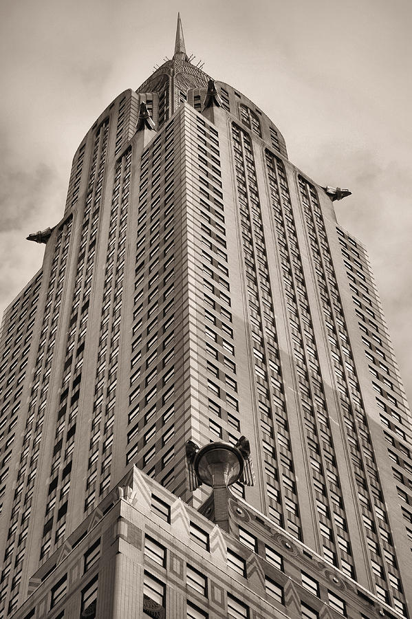Towehrysler Building Photograph - Towering Bw by JC Findley