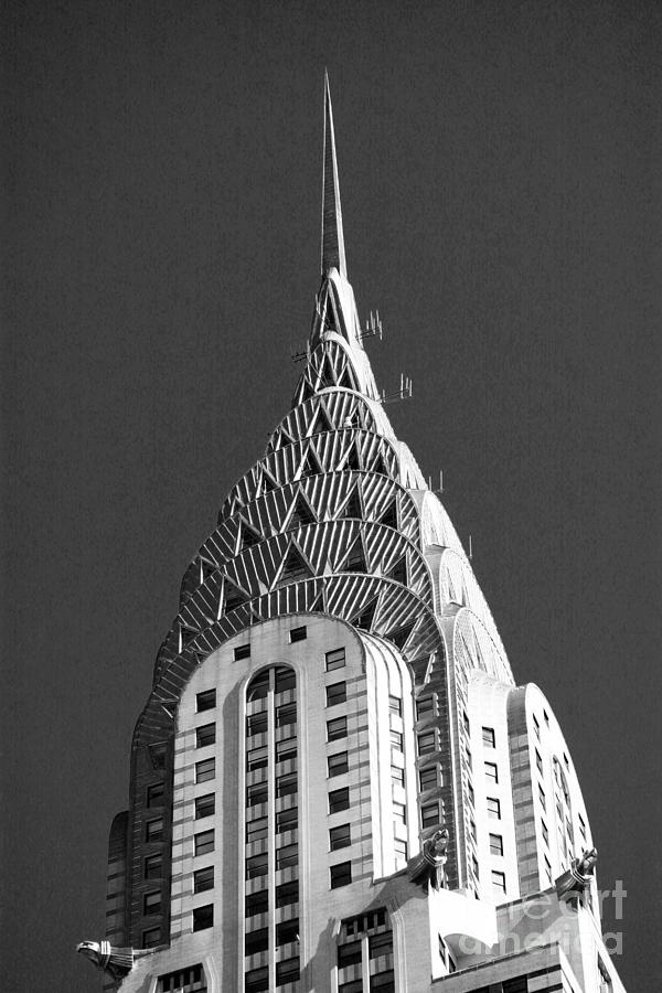New York Photograph - Towering Chrysler by David Bearden