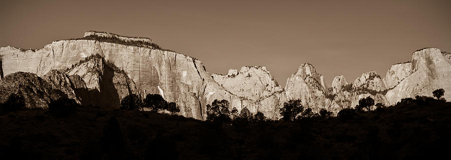 3scape Photos Photograph - Towers Of The Virgin by Adam Romanowicz