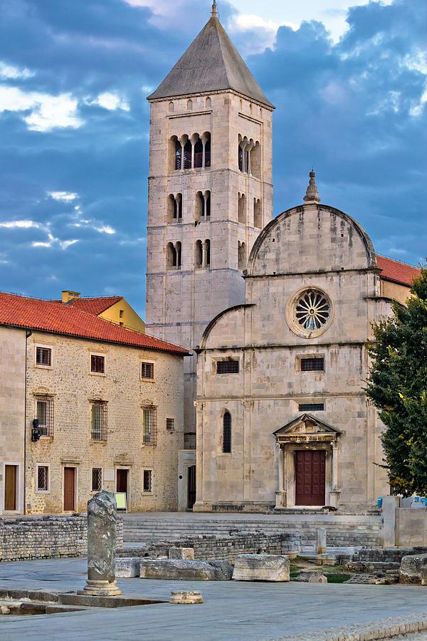 Town Of Zadar Historic Church Photograph