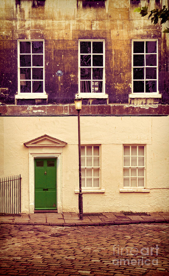 House Photograph - Townhouse by Jill Battaglia