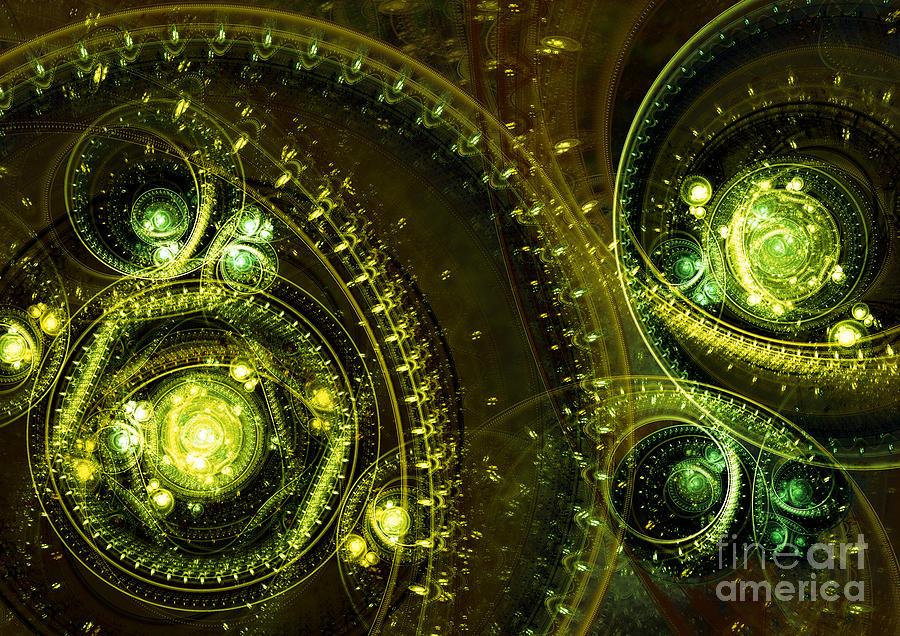 Mechanical Digital Art - Toxic Dream by Martin Capek