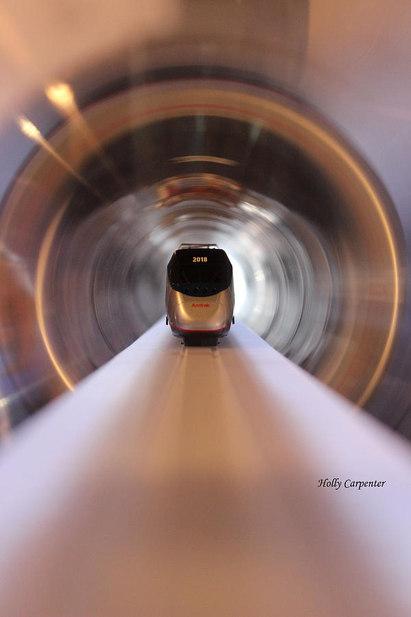 Trains Photograph - Toys in Motion by Holly Carpenter