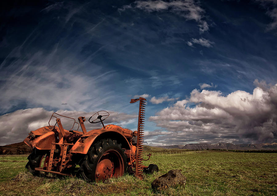 Tractor Photograph - Tractor by ?orsteinn H. Ingibergsson