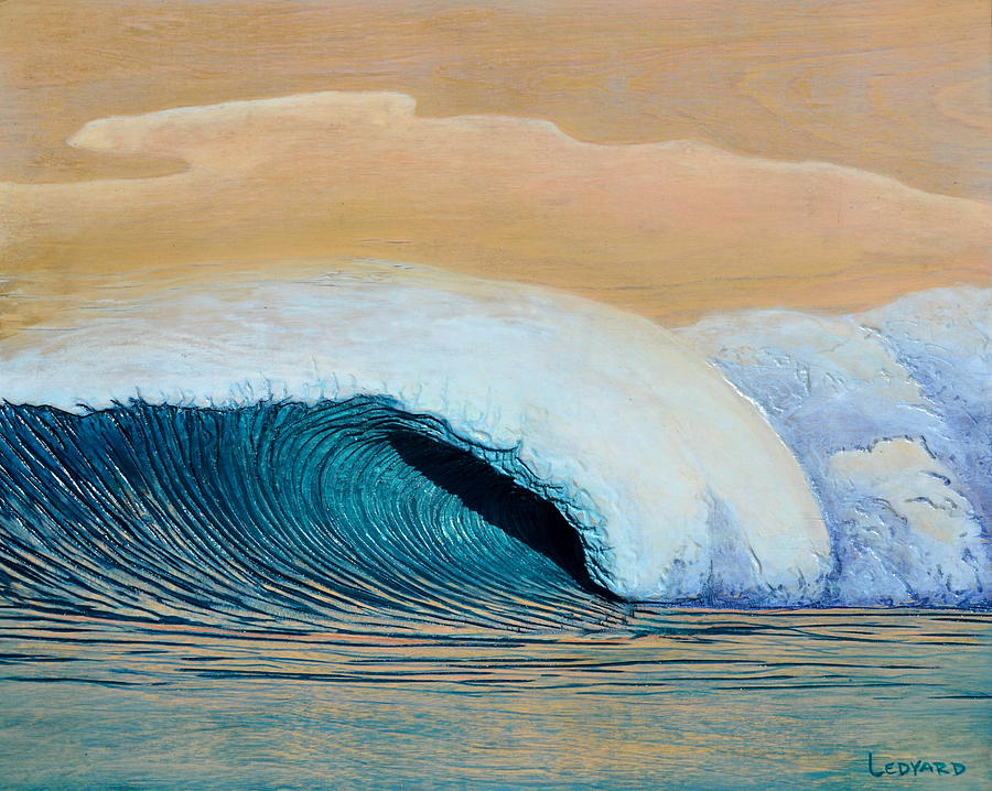 Ocean Painting - Trade Winds by Nathan Ledyard