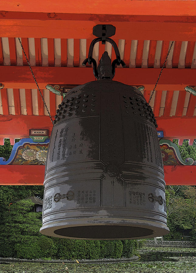 Japan Digital Art - Tradition by Barbara Bitner