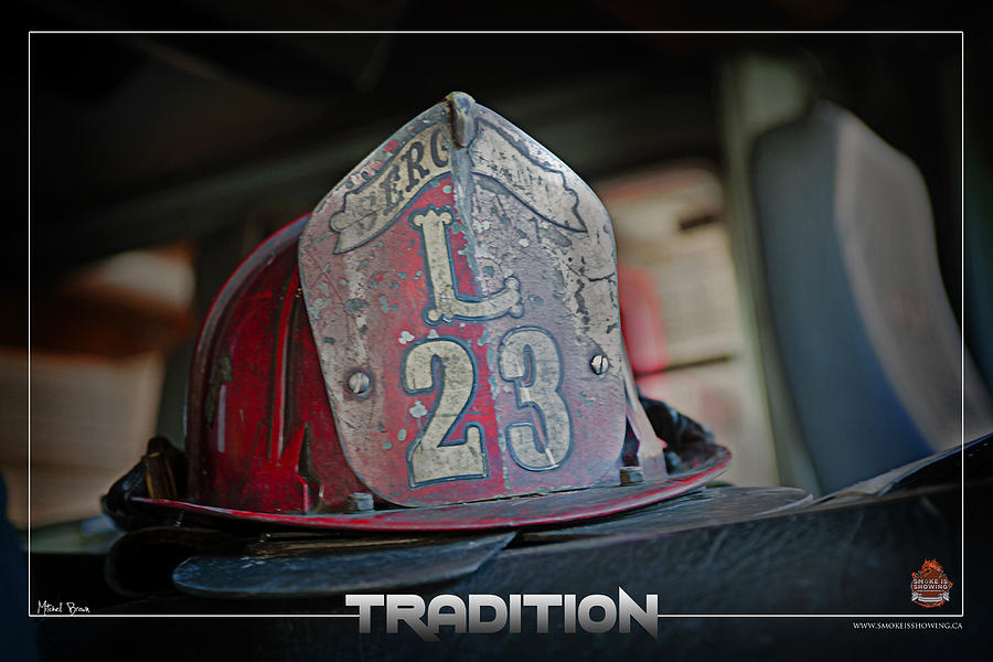 Firefighter Photograph - Tradition by Mitchell Brown