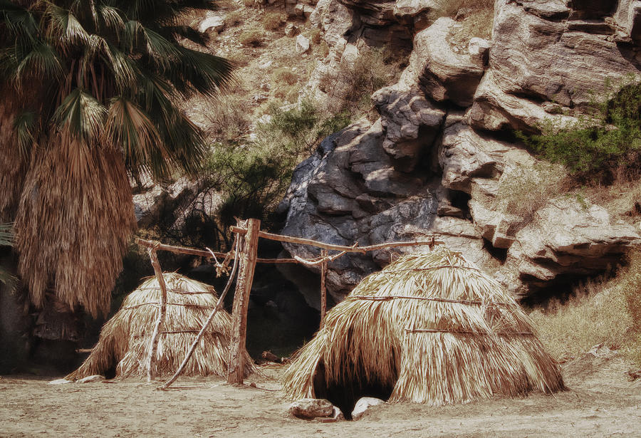 Traditional Cahuilla Indian Huts Photograph by Sandra Selle Rodriguez