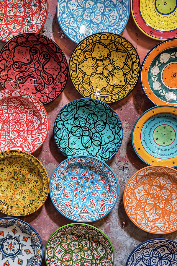 Traditional Ceramic Moroccan Photograph by Guyberresfordphotography