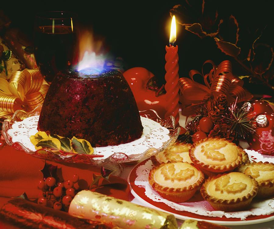 Christmas Photograph - Traditional Christmas Dinner In Ireland by The Irish Image Collection