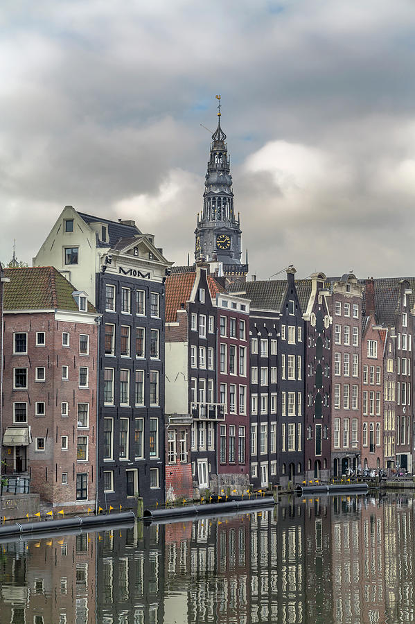Traditional Dutch Houses Over A Canal Photograph by Buena Vista Images