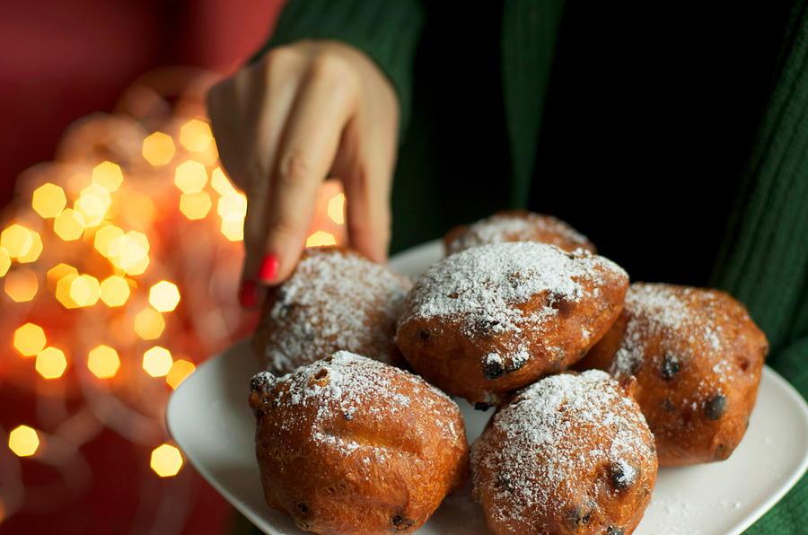 Traditional dutch oliebollen donuts Photograph by Photo by Ira Heuvelman-Dobrolyubova