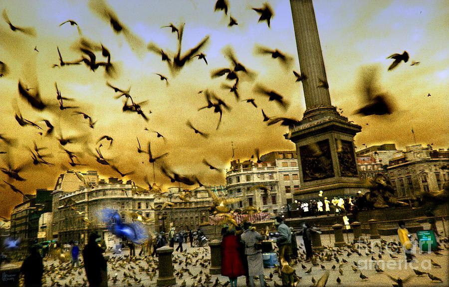 Trafalgar Square Photograph - Trafalgar Square by Jeff Breiman