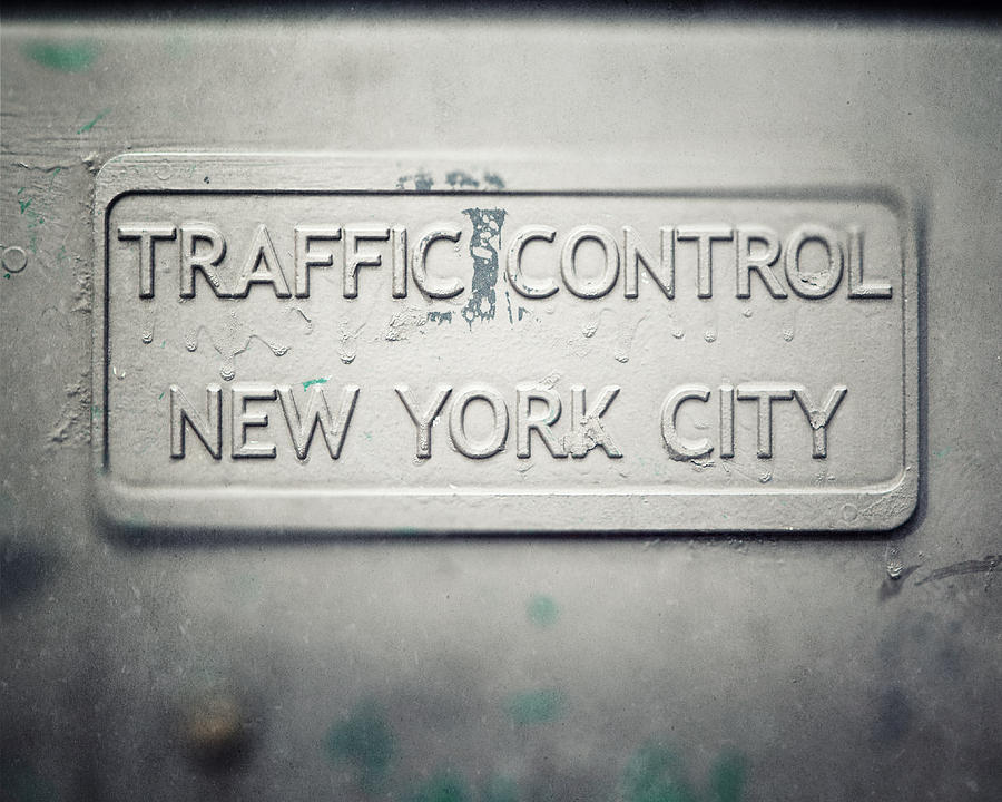 New York City Photograph - Traffic Control by Lisa Russo