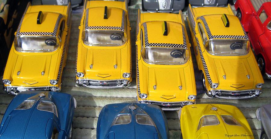 Toy Car Photograph - Traffic Jam by Leena Pekkalainen