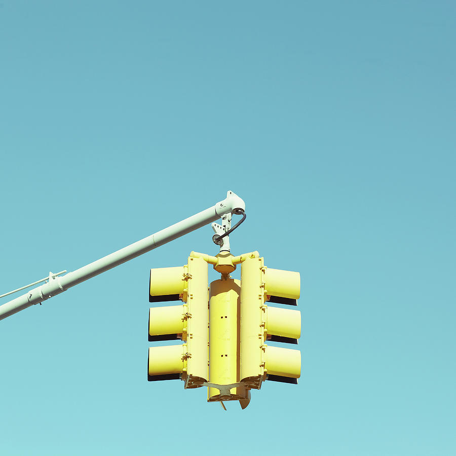 Traffic Light Photograph by Justinwaldingerphotography
