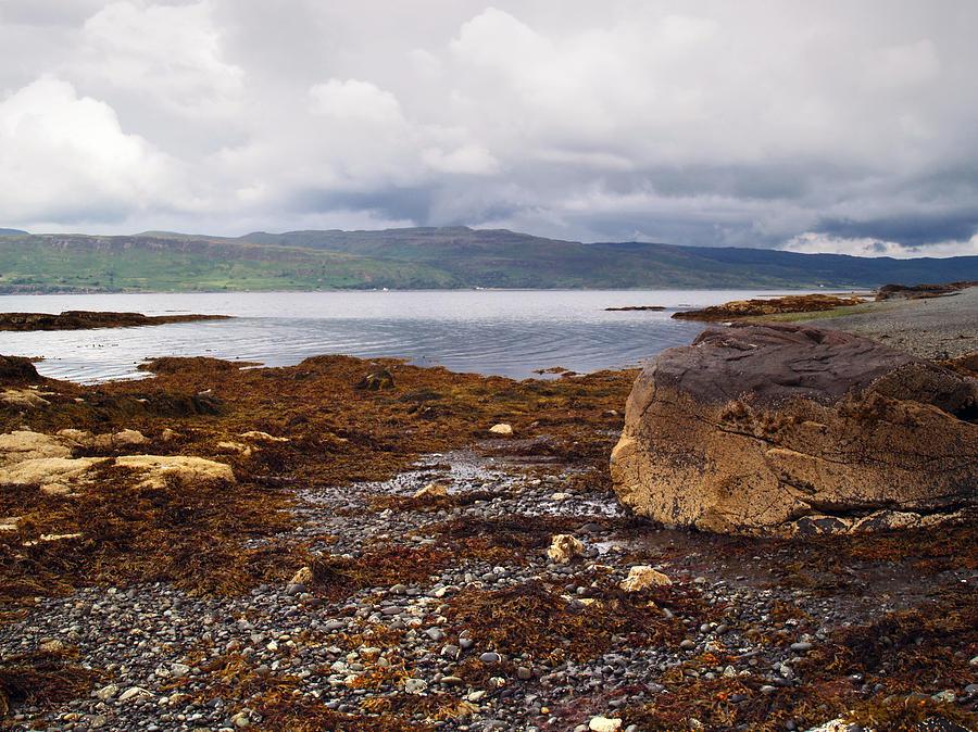 Shore Photograph - Traigh Coire Dubhaig by Steve Watson