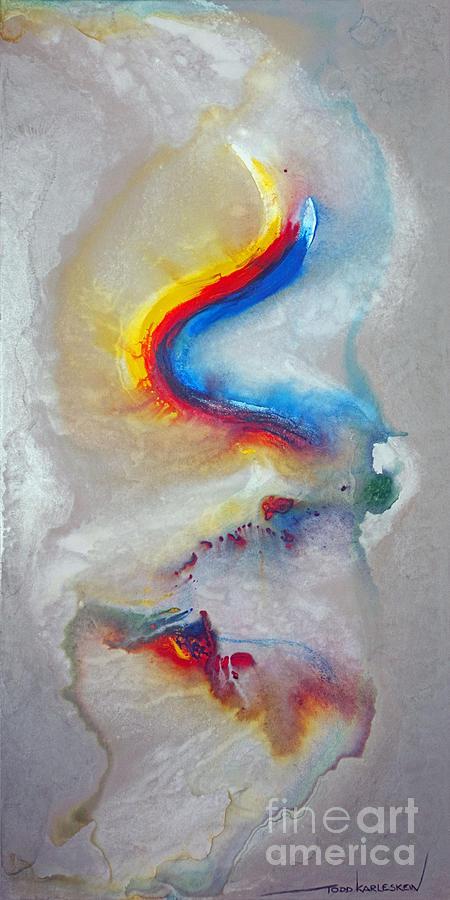 Dragon Painting - Trail Blazer by Todd Karleskein