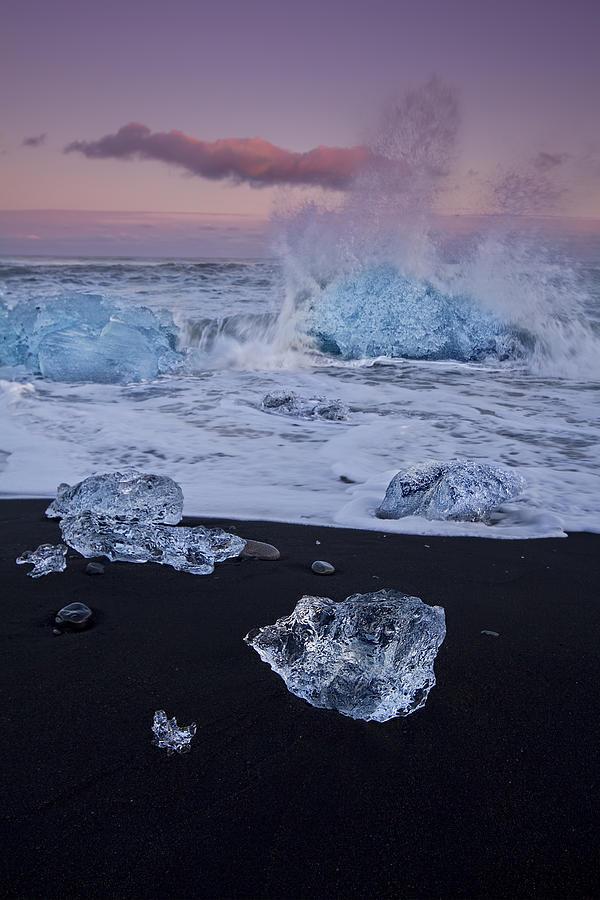 Trail Of Diamonds Photograph