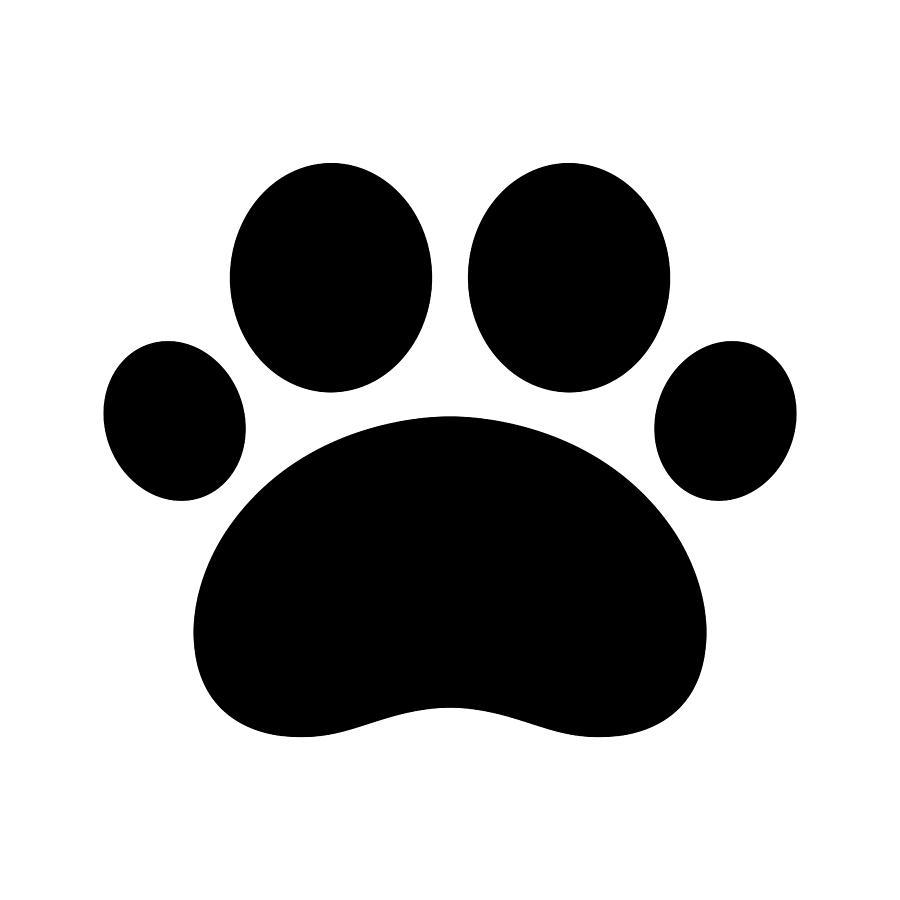 Trail Paws Vector Illustration Dog Cat Icon Logo Clipart French Bulldog Cartoon By Cnuisin