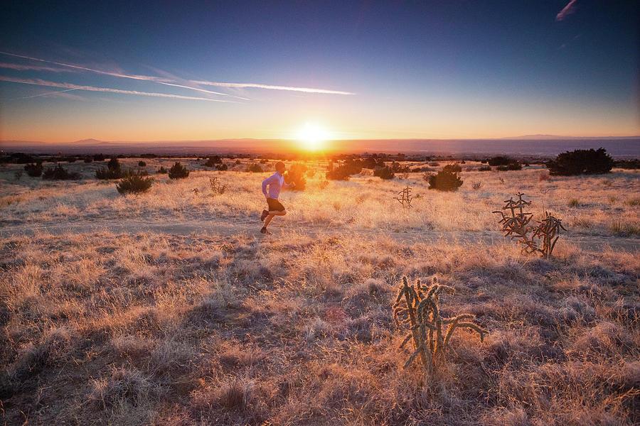 Trail Running Photograph by Amygdala imagery