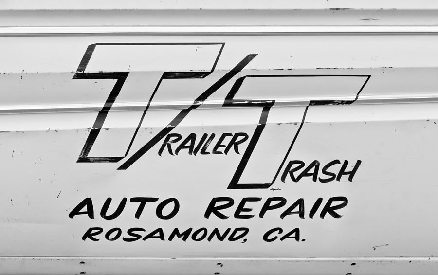 Auto Repair Photograph - Trailer Trash by Phil motography Clark
