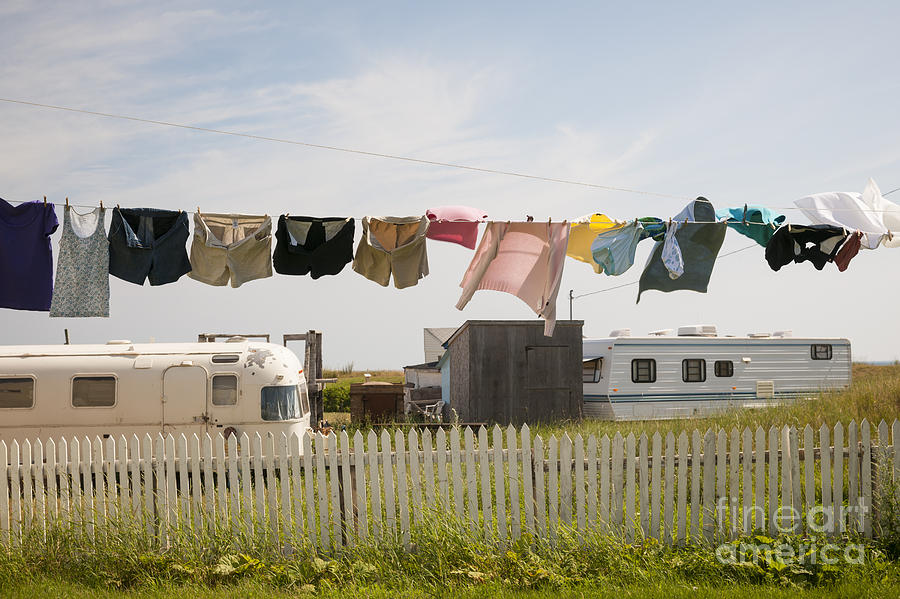 Trailers Photograph - Trailers In North Rustico by Elena Elisseeva