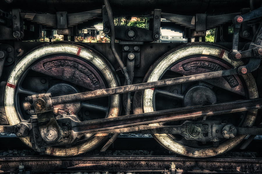 Mining Photograph - Train by Dobromir Dobrinov