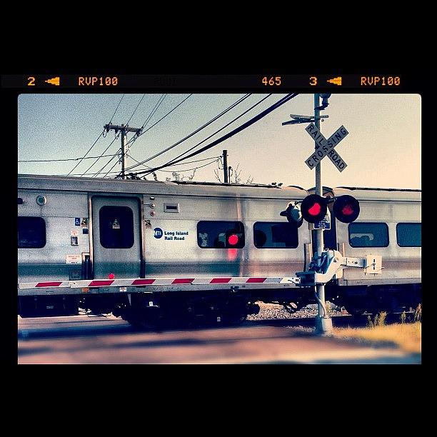 Train Photograph - Train in Passing by FC Designs