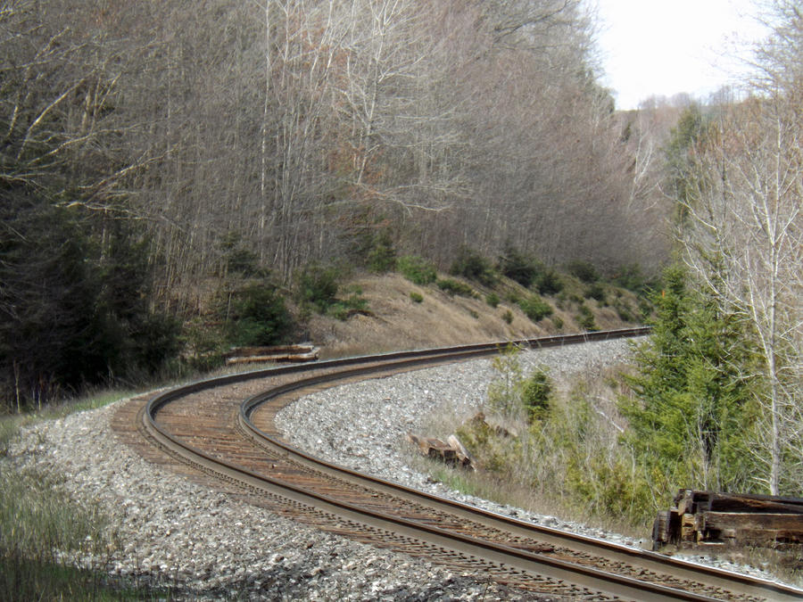 Train it coming around the Bend by Brenda Brown