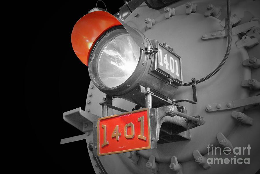 Train Light 1401 Photograph