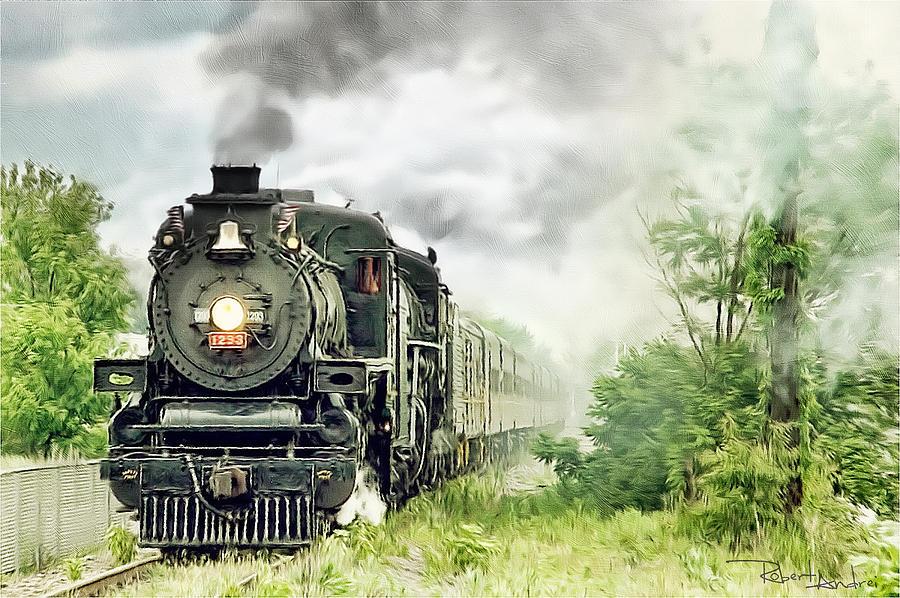 Train Digital Art - Train  by Robert Andrei