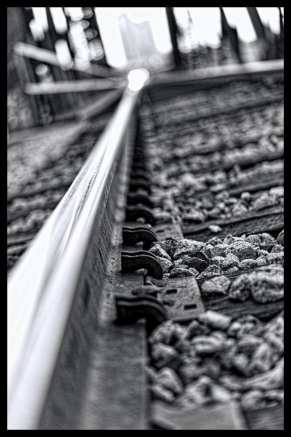 Train Track Photograph