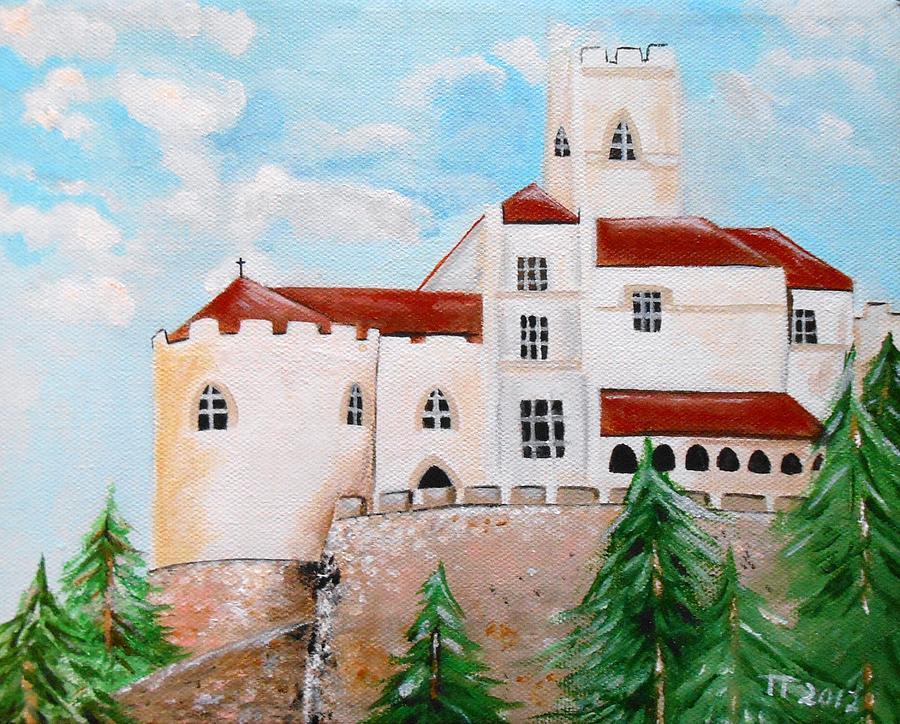 Croatia Painting - Trakoscan by Tomislav Neely-Turkalj