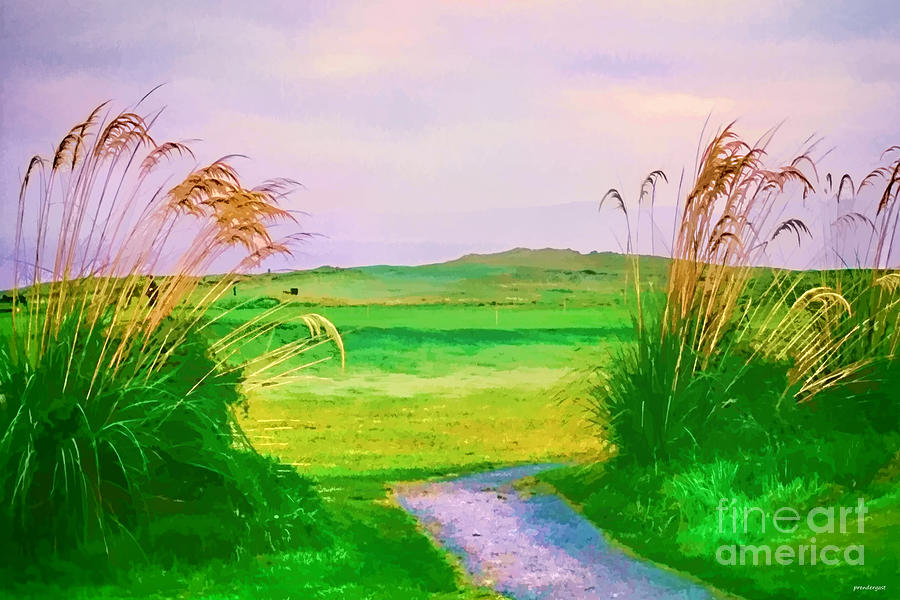 Beautiful Landscape Photography Photograph - Tralee Ireland Water Color Effect by Tom Prendergast