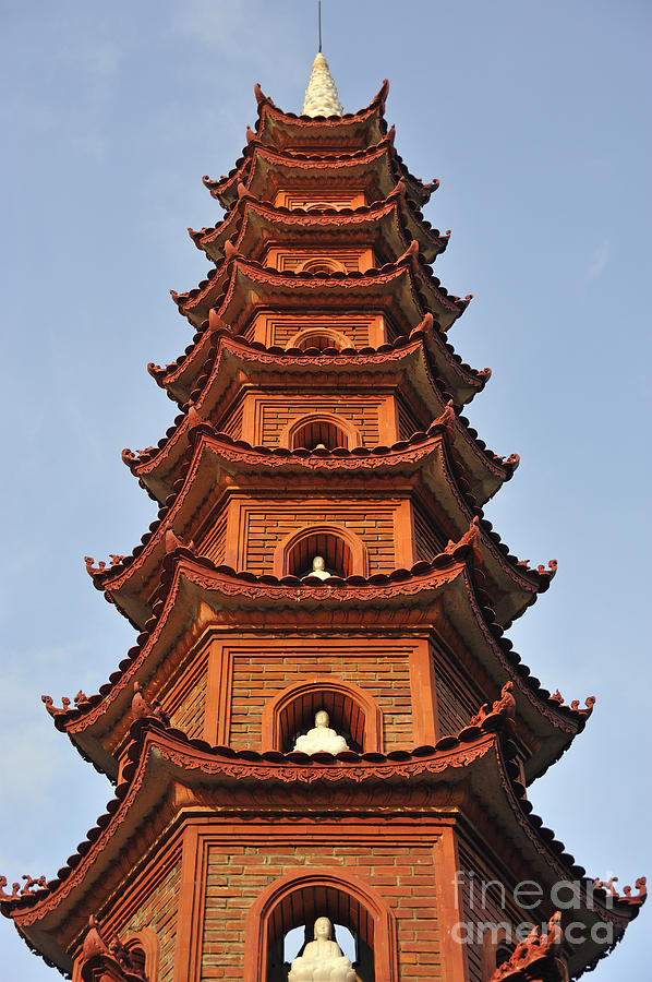 Tran Photograph - Tran Quoc Pagoda In Hanoi by Sami Sarkis