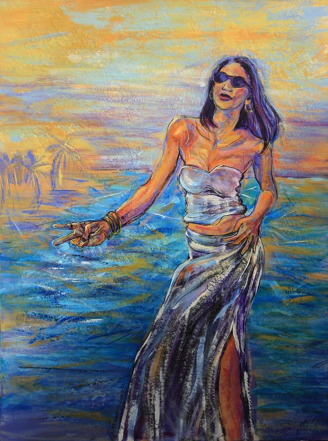 Female Painting - Tranceandance by Susi LaForsch