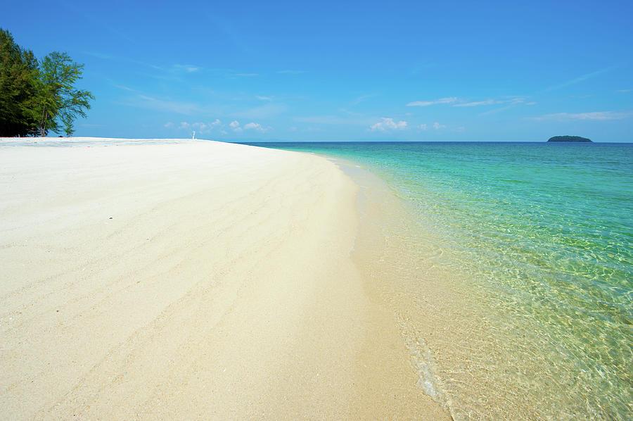 Tranquil Beach Photograph by Yai112