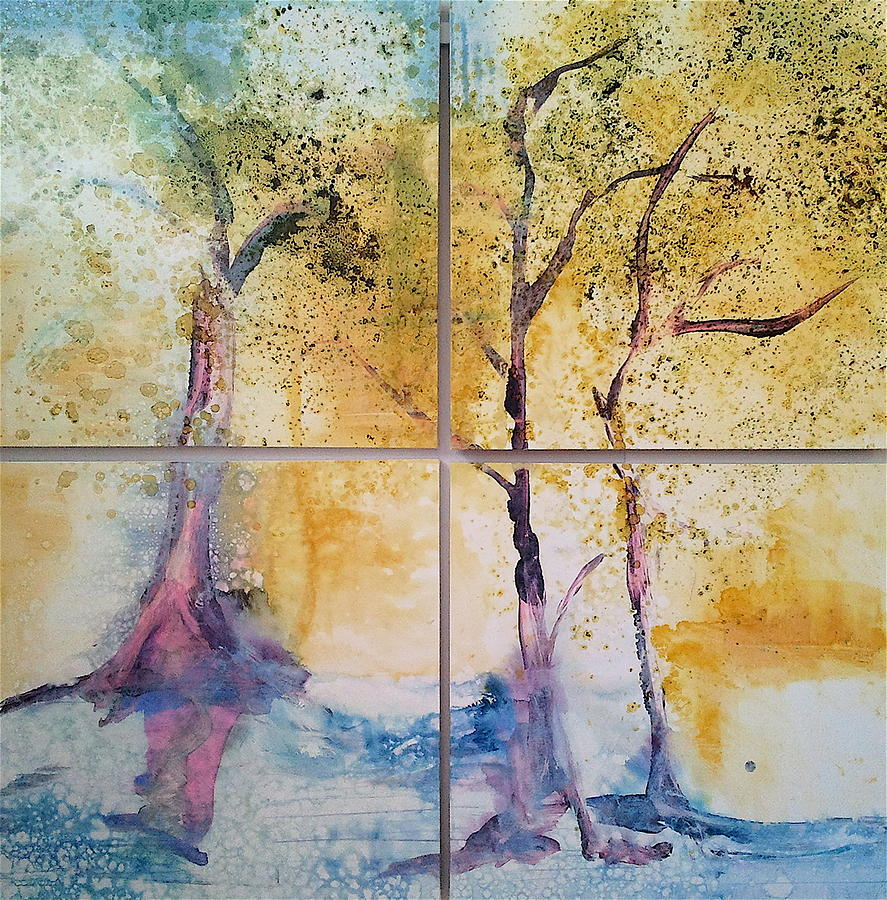 Tranquil Painting by Caia Matheson