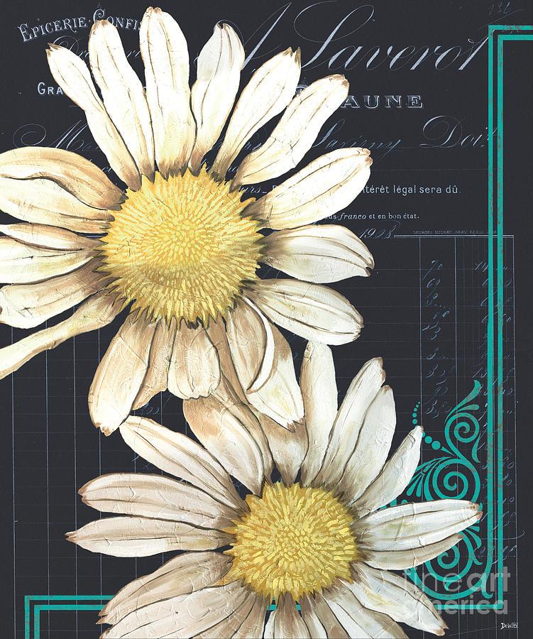 Daisy Painting - Tranquil Daisy 1 by Debbie DeWitt